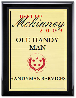 Best of McKinney 2009 award